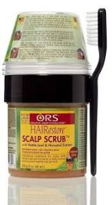 ORS Scalp Scrub Stimulating Formula For Hair & Scalp 4oz