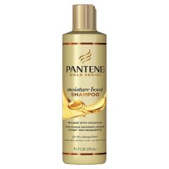 Pantene PRO-V Gold Series Moisture Boost Shampoo Infused with Argan Oil 9.1oz