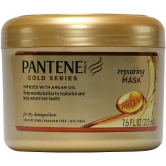 Pantene PRO-V Gold Series Repairing Mask Infused with Argan Oil 7.6 oz