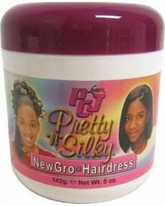 Luster's PCJ Pretty & Silky New Grow Hairdress Jar 6oz