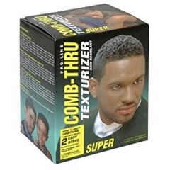 Pro-Line Comb-Thru No-Lye Hair Texturizer Kit Super