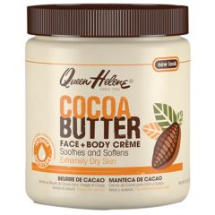 Queen Helene Cocoa Butter Face & Body Crème For Extremely Dry Skin 15oz
