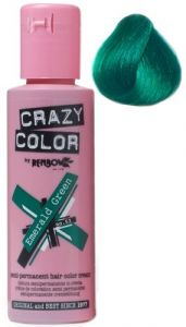 Renbow Crazy Color Semi-Permanent Hair Dye Cream - Emerald Green 100ml