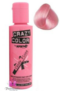 Renbow Crazy Color Semi-Permanent Hair Dye Cream - Candy Floss 100ml