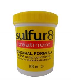 Sulfur8 Original Formula Anti-Dandruff Hair & Scalp Conditioner Jar 100g