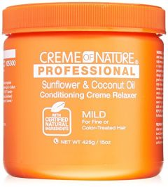 Creme of Nature Sunflower & Coconut Oil Conditioning Creme Relaxer 15oz