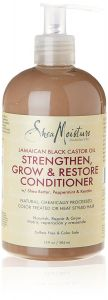 Shea Moisture Jamaican Black Castor Oil Rinse Out Conditioner 13oz