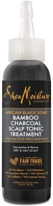 Shea Moisture African Black Soap Bamboo Charcoal Scalp Tonic Treatment 2oz