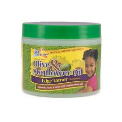 Sof N Free n Pretty Olive & Sunflower Oil Edge Tamer Jar 4oz