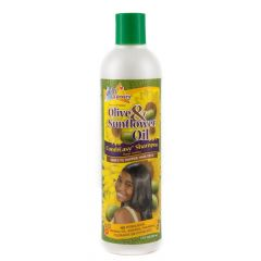 Sof N Free n Pretty Olive & Sun Flower Oil Comb Easy Shampoo 8oz