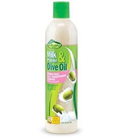 Sof N Free Gro Healthy Milk Protein Sulfate Free 2 in 1 Olive Conditioning Shampoo 12oz
