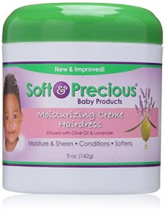 Soft & Precious Moisturizing Cream Hairdress (Infused with Olive Oil & Lavender) 5oz