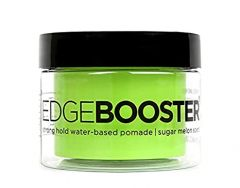 Style Factor Edge Booster Strong Hold Water-Based Pomade Sugar Melon Scent 3.38 oz