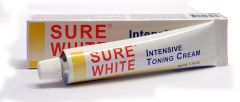 Sure White Intensive Skin Toning Cream Tube 50g
