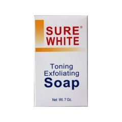 Sure White Toning Exfoliating Soap 7oz