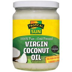 Tropical Sun 100% Pure Cold Pressed Virgin Coconut Oil