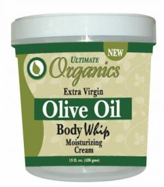 Ultimate Organics Olive Oil Body Whip Moisturising Cream 15oz