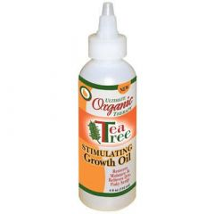 Ultimate Organics Tea Tree Stimulating Growth Oil 4oz