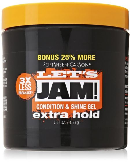 Let's Jam Extra Hold Condition & Shine Gel 4.25oz Orange