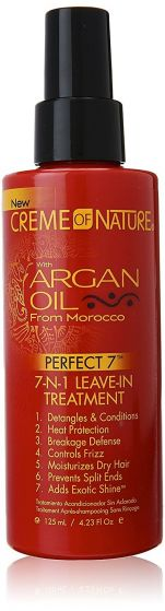 Creme Of Nature Argan Oil Perfect 7 In 1 Hair Spray 4.23oz