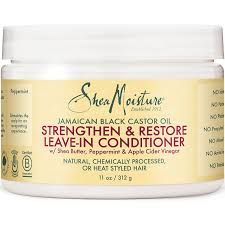 Shea Moisture Jamaican Black Castor Oil Strengthen and Restore Leave-In Conditioner 11oz