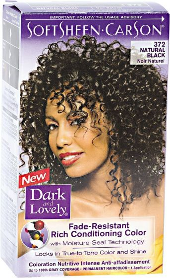 Dark And Lovely Natural Black 372