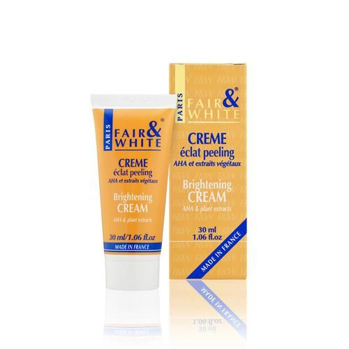 Fair and White Brightening Cream AHA & plant extracts 30ml