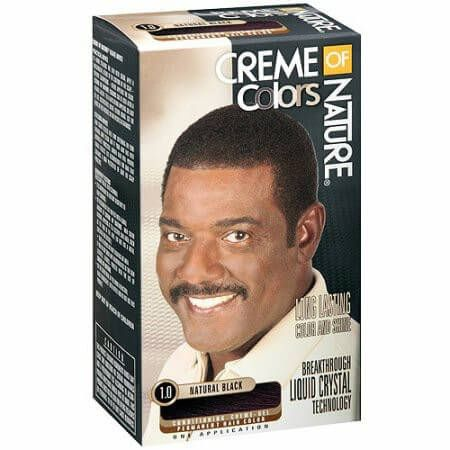 Creme Of Nature Black Hair Dye For Long Lasting Permanent Color & Shine