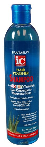 Fantasia Color Treated Shampoo & Chemically Damaged Hair 12oz
