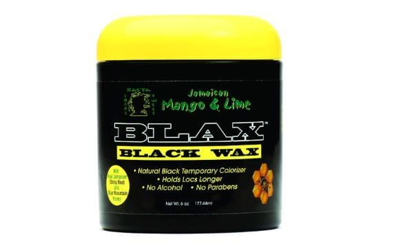 Jamaican Mango & Lime Rasta Alcohol-Free Black Hair Wax 6 oz