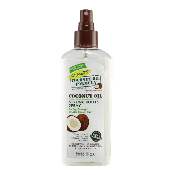 Palmers Coconut Oil Strong Roots Spray For Dry & Damaged Hair 150ml