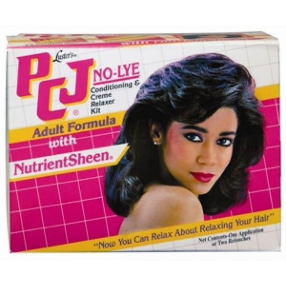 Luster's PCJ No-Lye Conditioning & Cream Relaxer Kit Adult Formula
