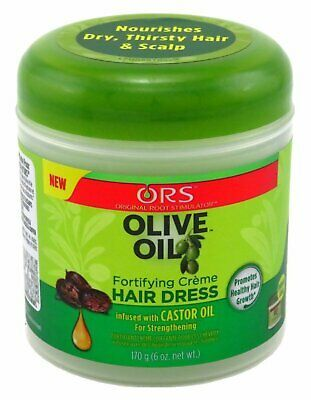 ORS Olive Oil Fortifying Creme Hair Dress non-drying formula